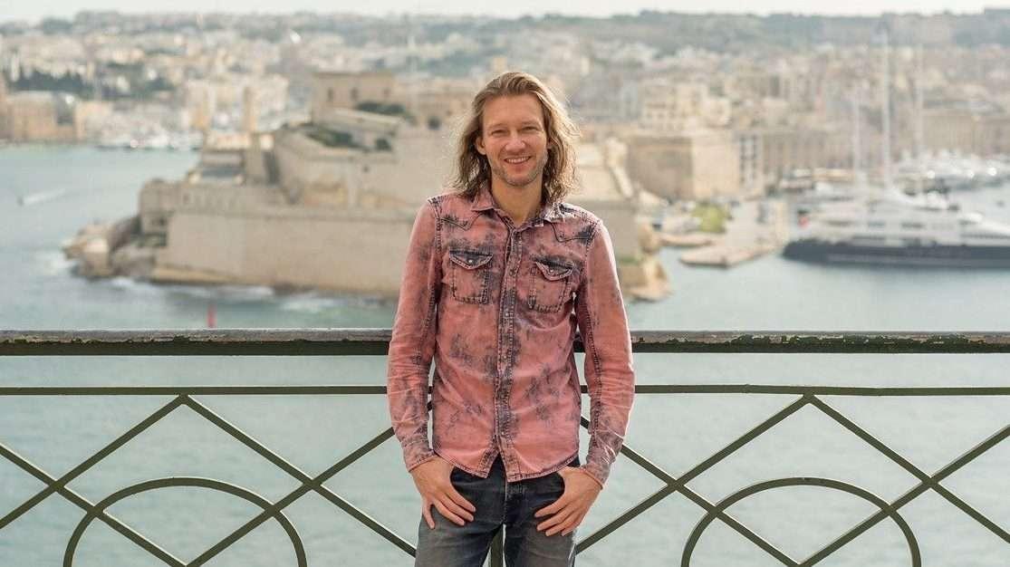 Ricco Mortensen - udsigt over Valletta