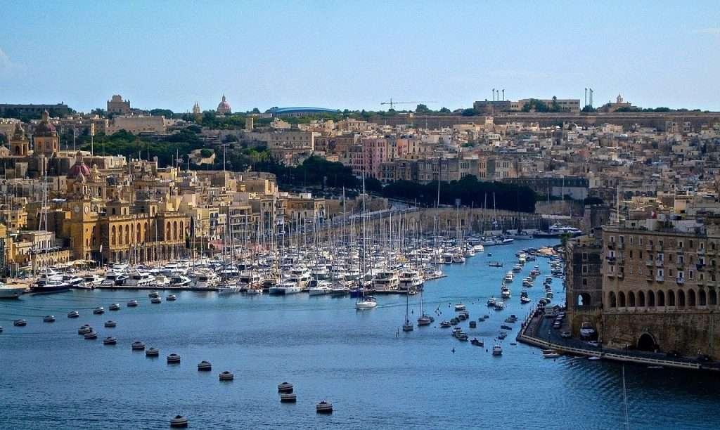 Ricco Mortensen - Malta havn